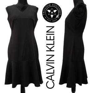 Calvin Klein Women's Black Dress Size 6 Workwear